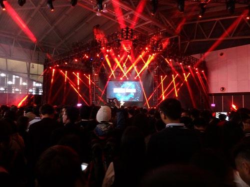 上海で初めての開催となる「SLUSH」。世界各国からスタートアップ企業が参加した