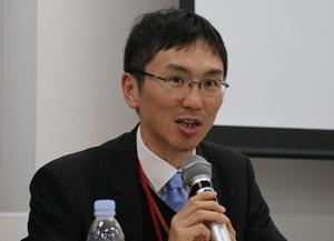 東京大学協創プラットフォーム開発の筧一彦協創推進部長