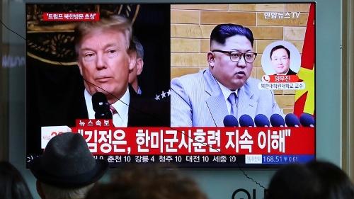 「首脳会談」を巡って米朝の駆け引きは続く(写真:AP/アフロ)