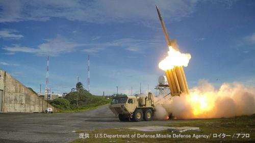 韓国へのTHAAD配備を巡り、米中の駆け引きが続く(提供:U.S. Department of Defense, Missile Defense Agency/ロイター/アフロ)