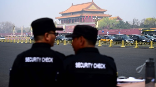 北朝鮮の要人が訪中か。北京は厳戒態勢(写真:AFP/アフロ)