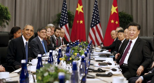 """北朝鮮の核凍結を狙う米中は「平和協定」をエサに6カ国協議の開催に動く。米中を操っているつもりだった韓国は交渉の""""駒""""に転落した(写真:ロイター/アフロ)"""