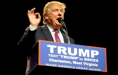 米大統領選で共和党の指名を確実にしたトランプ氏は、日本と韓国の「米軍駐留経費全額負担」を主張(写真:ロイター/アフロ)