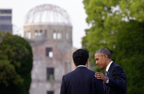 日米両国政府は「謝罪」を抜きにすることで、オバマ大統領の広島訪問を乗り切った(写真=AP/アフロ)