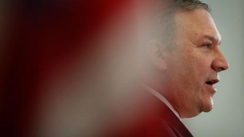 ポンペオCIA長官は7月20日、「核と金正恩は切り離さなければならない」と語った(写真:AP/アフロ 2017年4月撮影)