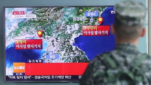 北朝鮮の5回目の核実験が韓国の核武装論に火をつける(写真:YONHAP NEWS/アフロ)