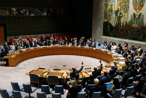 国連安保理は北朝鮮制裁決議を全会一致で採択したが…(写真:AP/アフロ)