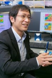 気象庁気象研究所研究官の荒木健太郎さん。