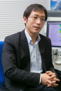 「雲研究者」を自称する荒木健太郎さん。