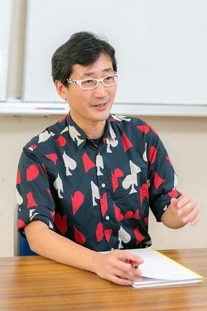 川上さんの最初の研究テーマはメグロだった。