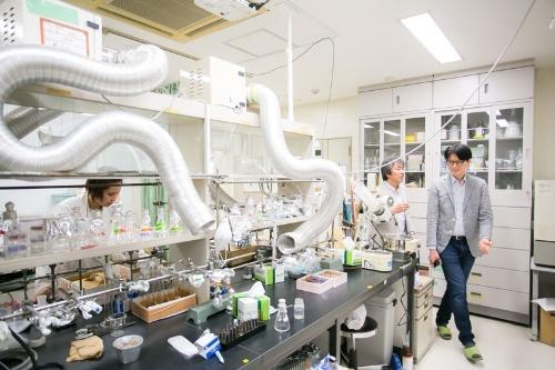 化学物質を抽出するための機器。