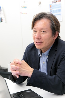 早稲田大学先進理工学部応用物理学科の森島繁生教授。