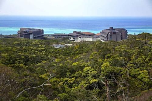沖縄科学技術大学院大学のキャンパスを望む。(画像提供:OIST/ギンター)