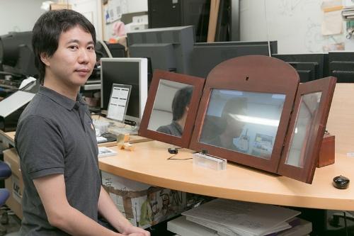 VR研究の最前線で、鳴海さんは何を目指し、どんな研究をしているのか。じっくり伺っていこう。