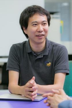 東京大学大学院情報理工学研究科の鳴海拓志講師。