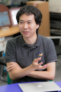 「デジタルミュージアム」と「ライフログ」というテーマも、鳴海拓志さんの研究室の柱のひとつだ。
