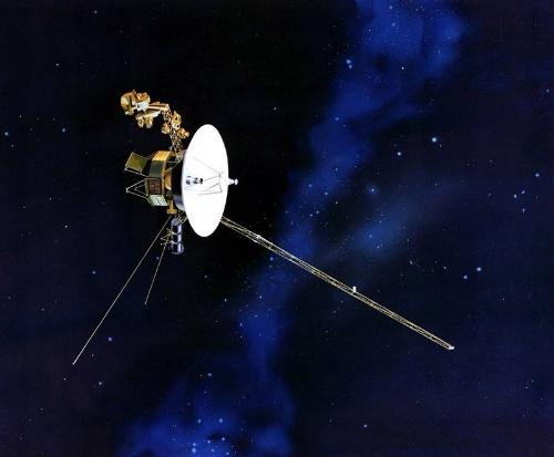 ボイジャーの想像図。(Image:NASA)