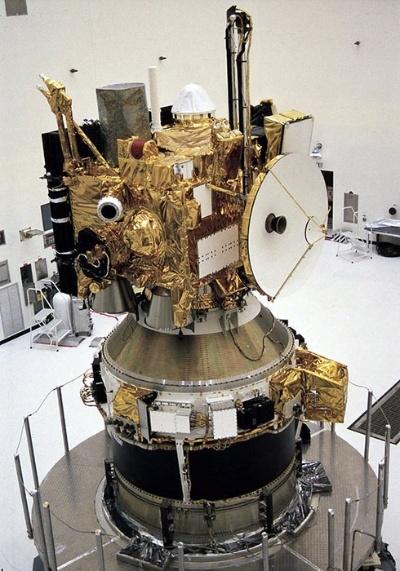 打ち上げ前のマーズ・オブザーバー。(Image:NASA/JPL)
