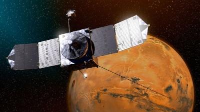 メイヴンの想像図。(Image:NASA/JPL-Caltech)