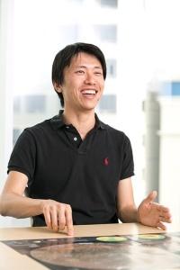 小野雅裕さんは仕事の4分の1をより先を見据えた研究開発に費やしている。