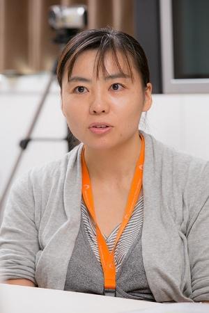 国立科学博物館人類研究部に所属する久世濃子さん。