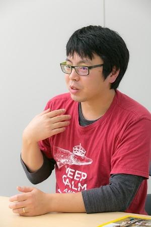 宮下哲人さん。2017年11月に博士号を取得したばかりの気鋭の研究者だ。