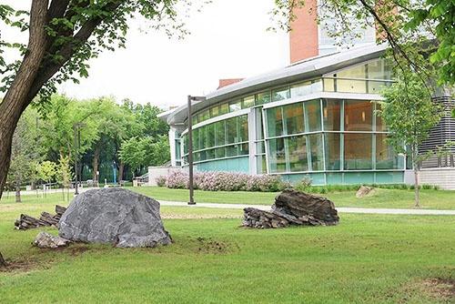 カナダ、アルバータ大学。(写真提供:川端裕人)