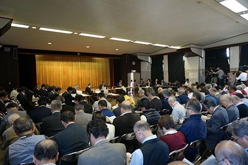 東京都が開催した専門家会議の様子