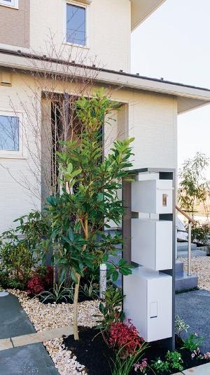 大和ハウス工業は、埼玉県越谷市の分譲住宅地で全棟に宅配ボックスを標準搭載