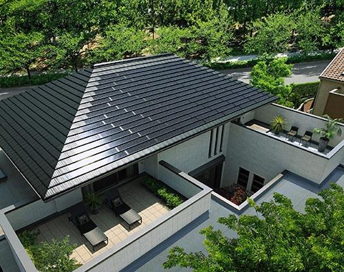 積水ハウスはゼロエネルギー住宅が認知された。写真は同社のゼロエネルギー住宅「グリーンファースト ゼロ」