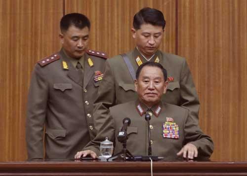 北朝鮮の統一戦線部長に新たに就任したで金英哲氏(写真:AP/アフロ)