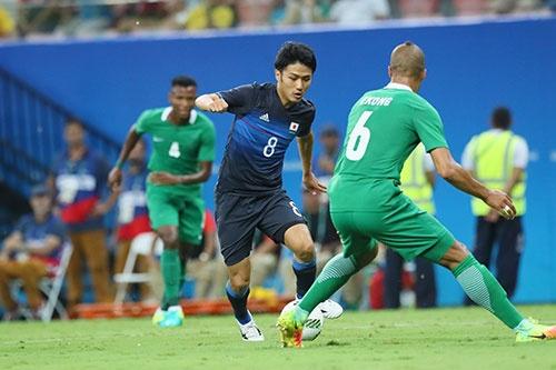 リオ五輪の日本男子サッカーチームは、グループリーグで敗退する結果となった。(写真:YUTAKA/アフロスポーツ)