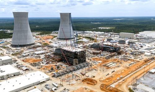 米ウエスチングハウスが関わる、米ジョージア州ボーグル原子力発電所3/4号機建設現場。原発の建設だけでなく維持運営についても技能伝承が課題だ。(写真:2017 Georgia Power Company)