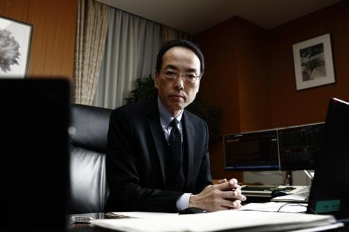 3年目に入った金融庁の森信親長官(写真:竹井 俊晴)