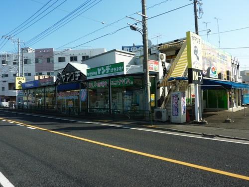 移転前の旧・木曽店。25年前、ヤマグチの在庫管理は煩雑を極めていた