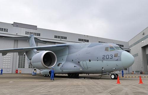 43年振りの新型国産輸送機となったC-2の量産初号機