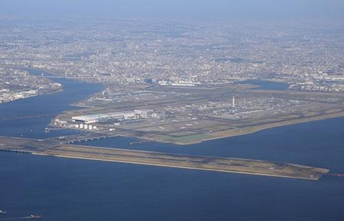 今秋以降、羽田空港から昼間時間帯に北米路線が飛ぶようになる(撮影:吉川 忠行、ほかも同じ)