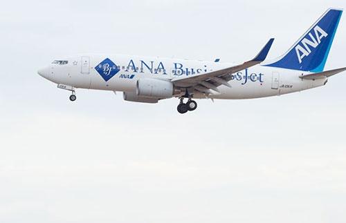 機体に「ANA Business Jet」と描かれたオールビジネスジェットがひっそりと姿を消した(撮影:吉川 忠行、ほかも同じ)