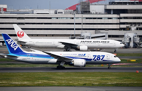 羽田空港の国際線発着枠は、高い収益性が見込めるため、航空各社にとっては垂涎の的だ(撮影:吉川 忠行)