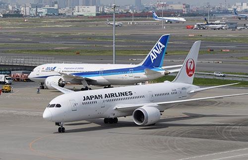ANAはスターアライアンスに、JALはワンワールドに加盟する(撮影:吉川 忠行)