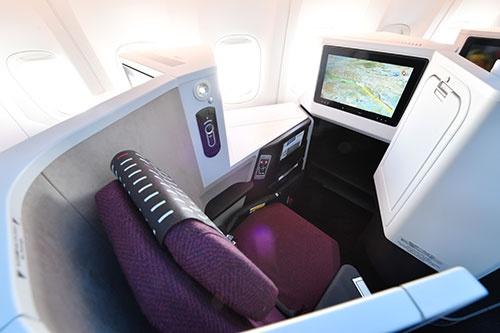 実際に搭乗した窓側席の10A