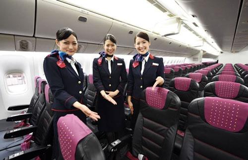 「JAL SKY NEXT」シリーズでは、普通席の座り心地も格段に向上した