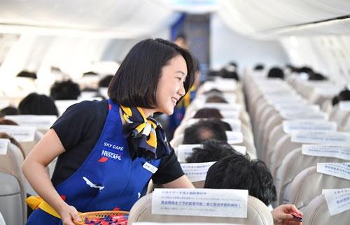 機内のサービス面も、大手に見劣りしない