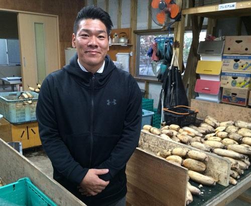 「あそこは日本一というステータスはわかりやすい」と話す宮野義隆さん(金沢市才田町)