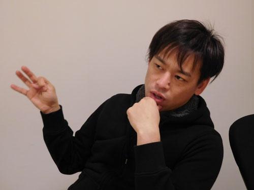 「ハードはツールに過ぎない」と話す岩佐大輝氏