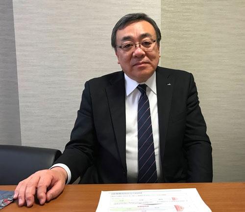 イトーヨーカ堂の元社長で全農チーフオフィサーの戸井和久氏は「JAグループには産地というリソースがある」と話す(東京・内神田のコープビル)