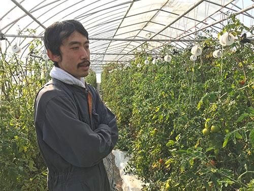 「雇用で地域に貢献したい」と話す長嶋智久さん(宇都宮市)