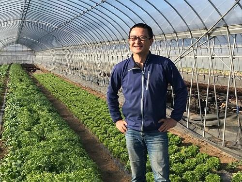食と農の意義について発信し続ける久松達央さん(茨城県土浦市)