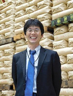 研究界と連携し、イノベーションを目指す横田修一さん(茨城県龍ケ崎市)