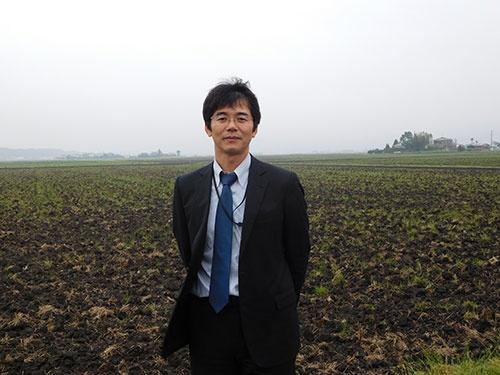 横田農場は地域の広大な田んぼを担う(茨城県龍ケ崎市)